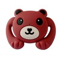 Dudlík - červený medvídek