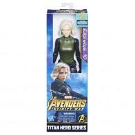 Avengers 30cm deluxe figurka s doplňky - Black Widow