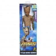 Avengers 30cm deluxe figurka s doplňky - Groot