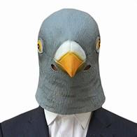 Maska - hlava holuba