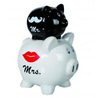 Dvojité prasátko Mr&Mrs