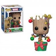 POP! Bobble: Marvel: Holiday Groot w/ Lights & Ornaments