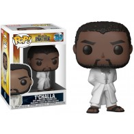 POP! Bobble Marvel: Black Panther: T'Challa Robe (White)