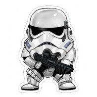Nálepka na auto - Storm Trooper