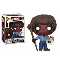 POP! Bobble Marvel: Deadpool Playtime: Deadpool Bob Ross