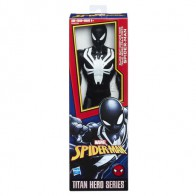 Akční figurka Spiderman Titan - Black suit Spiderman - 30 cm