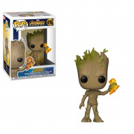 POP Marvel: Infinity War - Groot w/ Stormbreaker