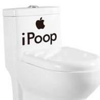 Samolepka na zeď - iPoop
