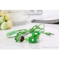 Sluchátka do uší - Green Lantern s krabičkou - zelená