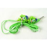 Sluchátka do uší - Mike Wazowski - zelená
