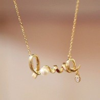 Řetízek na krk - Love