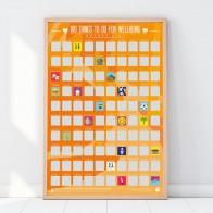 Stírací plakát - 100 kroků k blahobytu