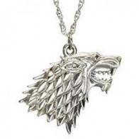 Náhrdelník Game of Thrones - znak Starků