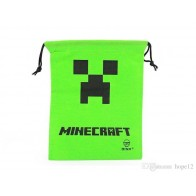 Sáček Minecraft Creeper face