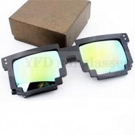 Zrcadlové sluneční brýle Minecraft - Žluté