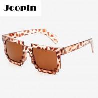 Mozaikové sluneční brýle 8 bit pixel - Růžové
