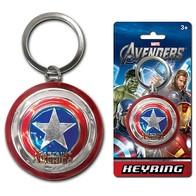 Přívěšek na klíče - štít Kapitán Amerika