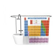 Sprchový závěs Big Bang Theory - periodická tabulka prvků