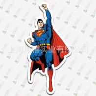 Samolepka - letící Superman